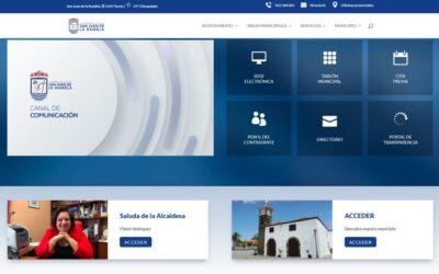 El Ayuntamiento presenta la nueva web municipal