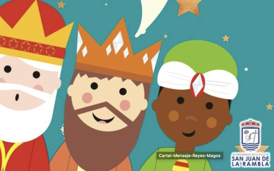 Los Reyes Magos envían videomensajes personalizados a los niños rambleros