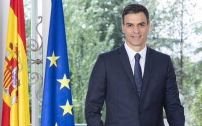 El presidente Pedro Sánchez acepta participar en el Comité de Honor del Centenario de la Villa