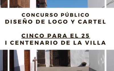 En marcha un concurso para elegir el logo que identificará a la celebración del Centenario de la Villa