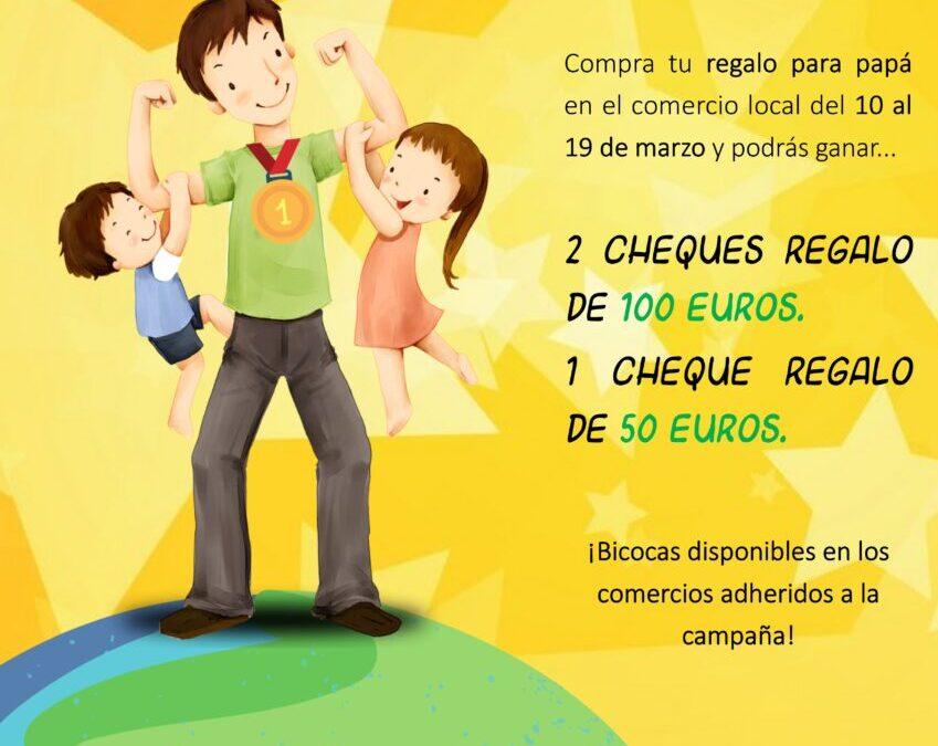 «Papá ramblero. ¡El mejor del mundo entero!», es la campaña de Comercio para el Día del Padre