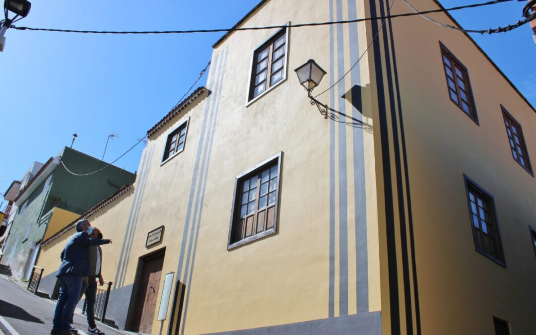 Concluye la recuperación de la fachada de la Casa Amarilla de San José