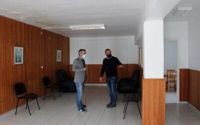 Obras de rehabilitación del velatorio municipal