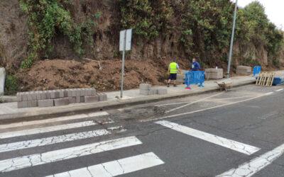 Mejora de seguridad de la vía aledaña al CEIP Francisco Afonso Carrillo