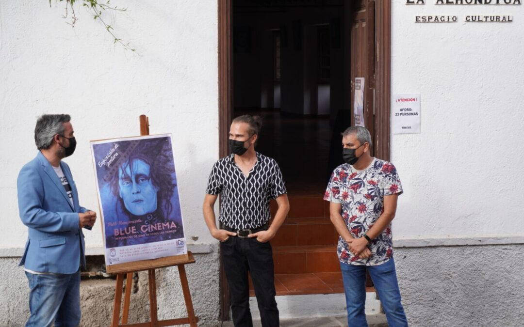 Inaugurada la muestra «Blue Cinema» en la sala de exposiciones La Alhóndiga