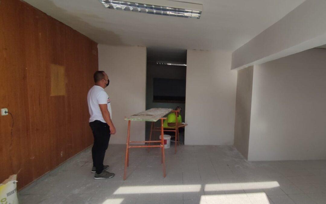 A buen ritmo las obras de rehabilitación del velatorio municipal