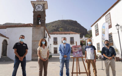 """Encendida la llama de la """"VI Milla del Fuego"""" de la Villa de San Juan de la Rambla"""