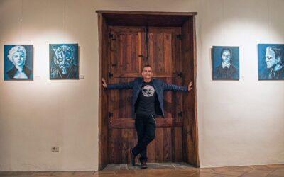 """Pablo Roma presenta """"Blue Cinema"""" en la sala de exposiciones La Alhóndiga"""
